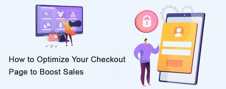 checkout page optimization